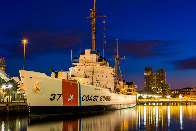 United states coast guard ship