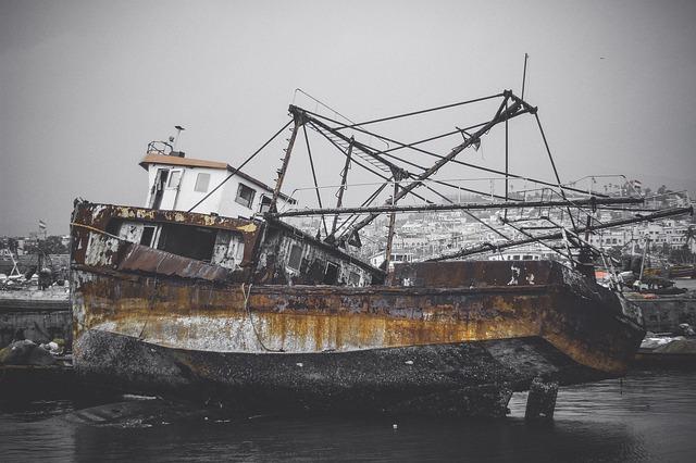 unseaworthy broken boat