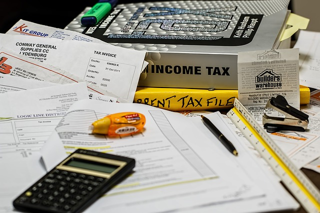 filing taxes, maintenance vs. advances