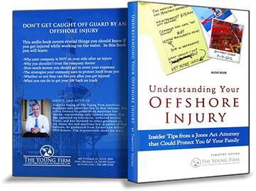 Maritime injury guide 3D book cover