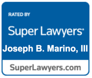 Joseph Marino Super Lawyers Badge