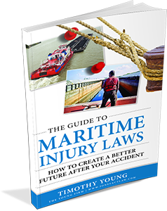 3D Book of Maritime Injury Laws Guidebook Cover