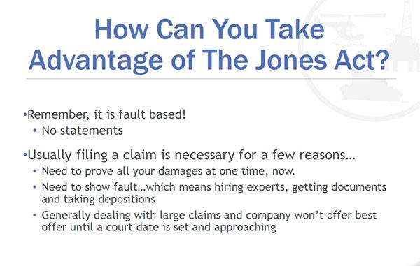 Using the Jones Act