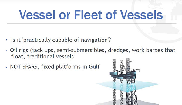 what is a vessel under the jones act