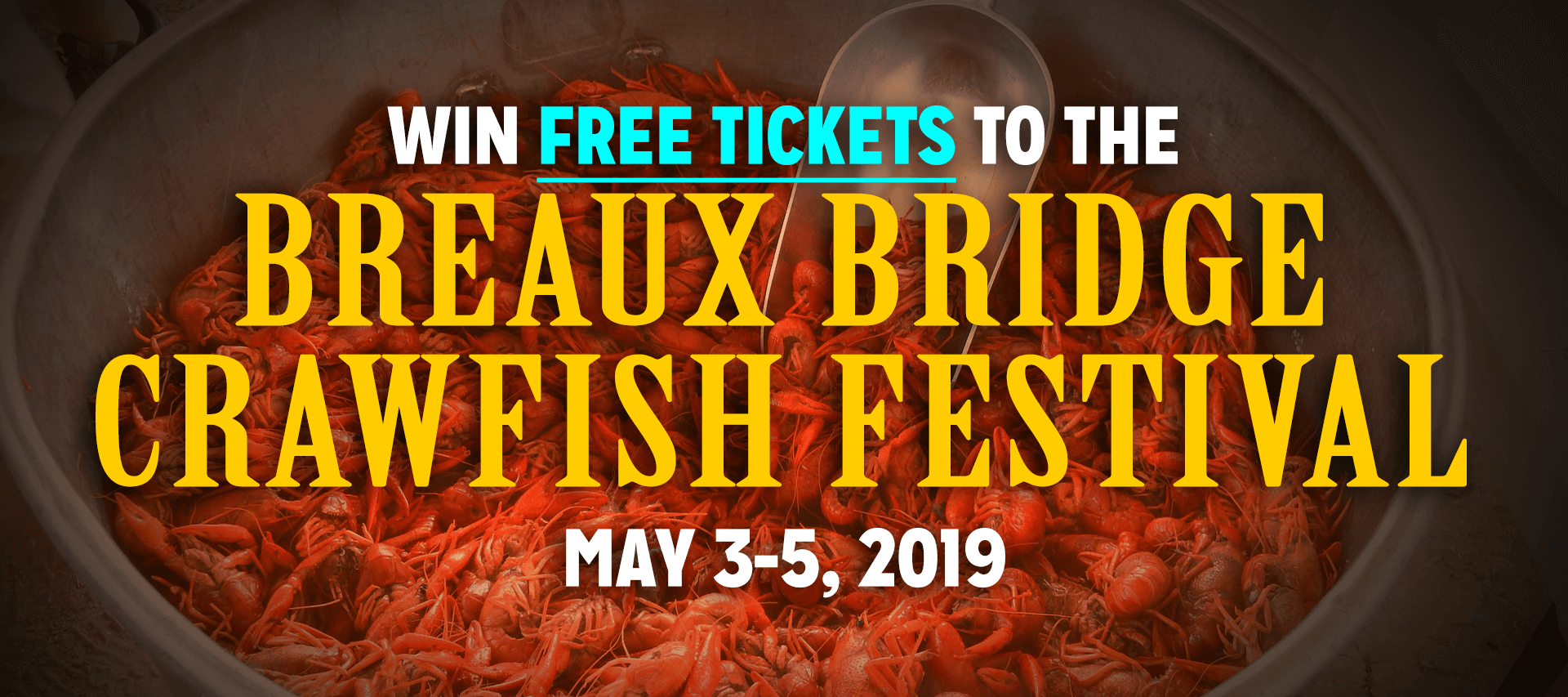The Young Firm Sponsors Breaux Bridge Crawfish Festival