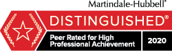 Martindale Attorney badge